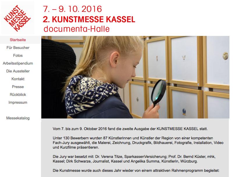Kunstmesse Kassel 2016